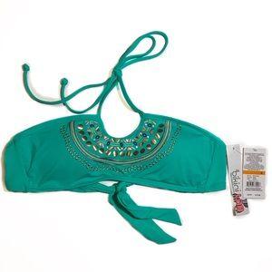Bikini Lab Embellished Top